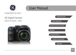 ge - camera - X400 - User Manual : Free Download, Borrow, and ...